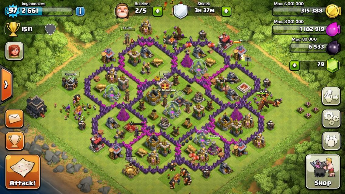 clash of clans de