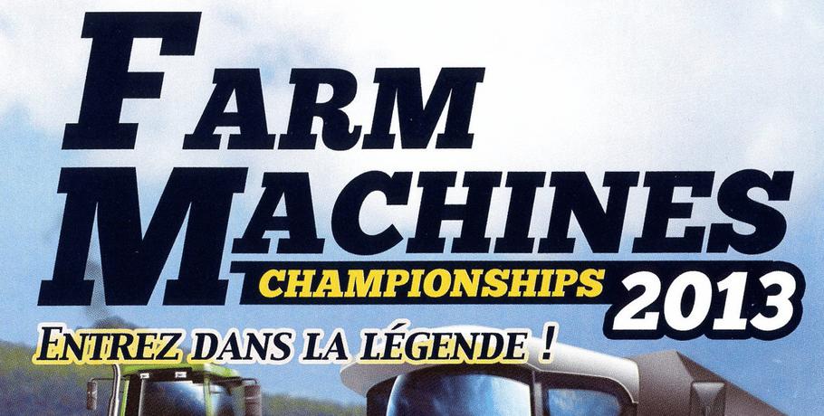 Farm Machines Championships 2013 Logo