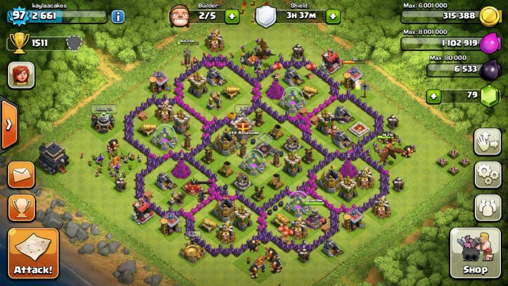 Clash Of Clans img jeu