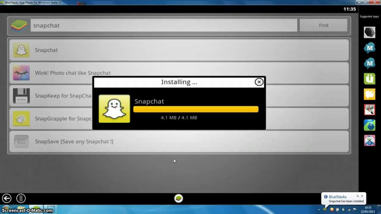 Télécharger snapchat sur macbook pro