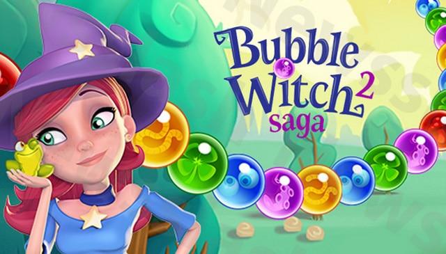 Bubble Witch 2 Saga Logo