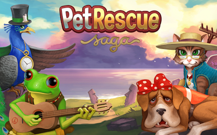 Pet Rescue Saga Logo