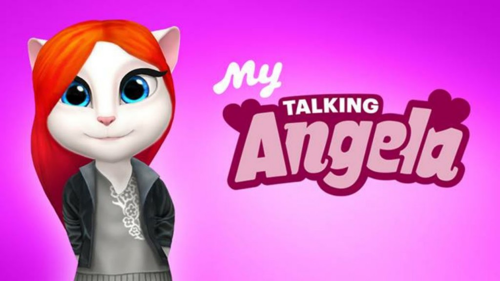 Ma Talking Angela Logo