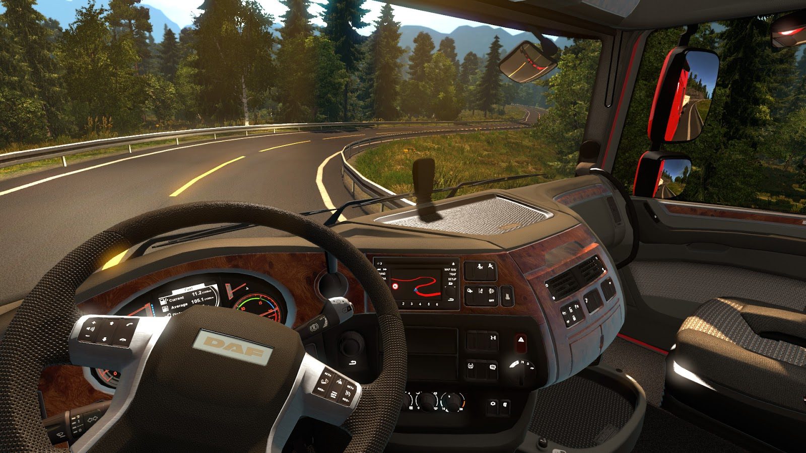 تحميل لعبة euro truck simulator 2 مجانا